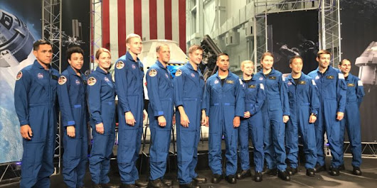 NASA has a spiffy new class of astronauts, but where will they go?