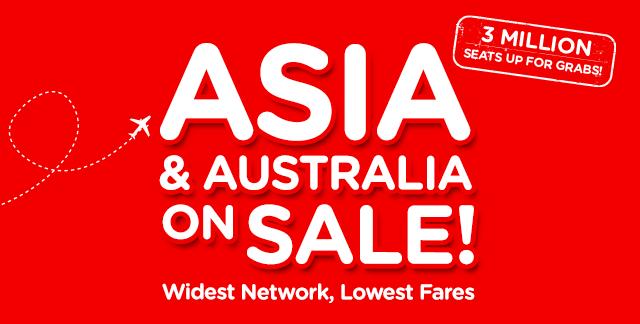 Asia & Australia on Sale!