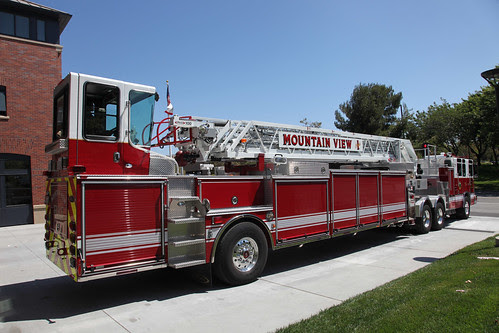 Mine's bigger than yours! (Ladder Truck that is...) by jitze