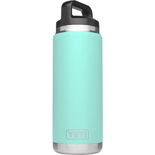 Yeti Coolers Rambler Vacuum Insulated Bottle, Seafoam - 26 oz