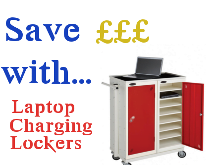 2-in-1 Benefits of a Laptop Charging Locker - Workplace Stuff