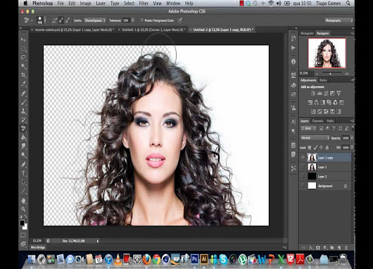 Easy Way to Remove Background Using Eraser Tool-Clipping Photoshop