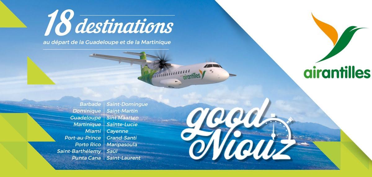 Accueil Air Antilles Compagnie Aérienne Régionale