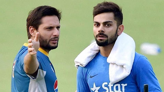 Shahid Afridi thanks Virat Kohli-led Indian cricket team for farewell gift