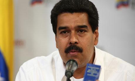 Nicolas Maduro, Venezuela vice president