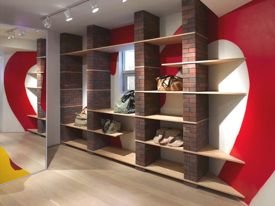 Bold layered interiors at retail boutique Annie Aime, Toronto « Adelto Adelto - Light, Modern And Minimalist Styled Apartment, Toronto « Adelto Adelto