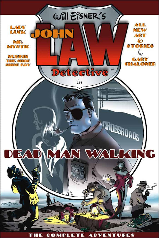 "1306 Talking Will Eisner with ""John Law"" comics artist Gary Chaloner! PODCAST INTERVIEW - Mr. Media"