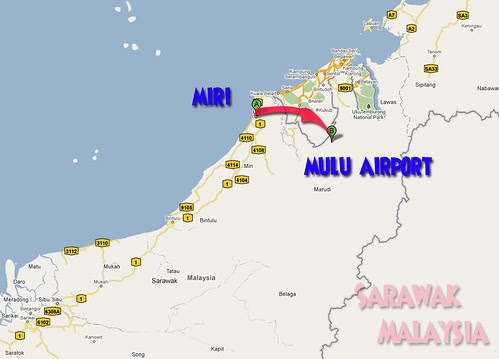 miri to mulu