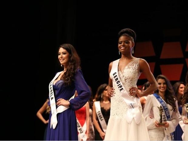 Miss Ilhabela Catharina Choi Nunes, que ficou em 2º lugar, vai assumir o título no lugar da Miss Sergipe (Foto: Leonardo Rodrigues/MMB)