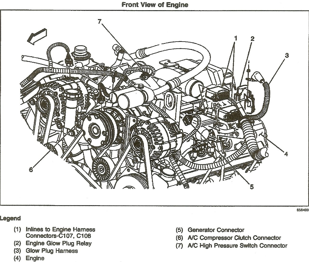 6 5 Diesel Glow Plug Wiring Diagram - Wiring Diagram Networks
