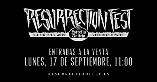 Primeras confirmaciones Resurrection Fest 2019: Trivium, Parkway Drive, Testament, Kvelertak y While She Sleeps