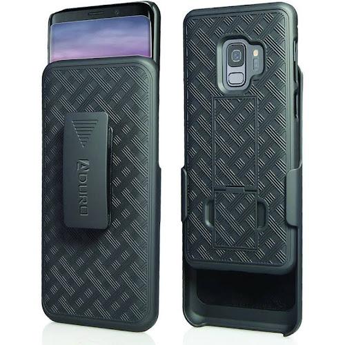 Aduro Samsung Galaxy S9 Belt Clip Holster Case Kickstand Rotating Belt Clip