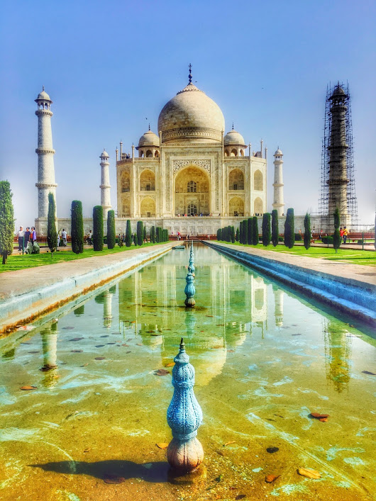 Taj Mahal – The Mausoleum for the iconic love story!!