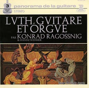 RAGOSSNIG, KONRAD / HANNI WIDMER panorama de la guitare 3 / lvth, gvitare et orgue
