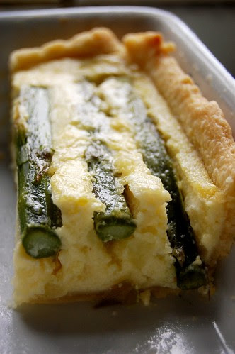 asparagus & potato tart 6