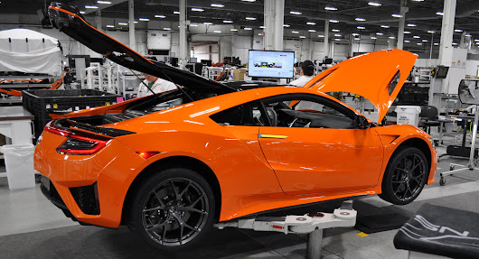 We Go Inside The American Supercar Factory That Makes Acura's NSX | Carscoops