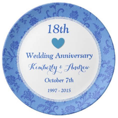 18 Wedding Anniversary Gifts   T Shirts, Art, Posters