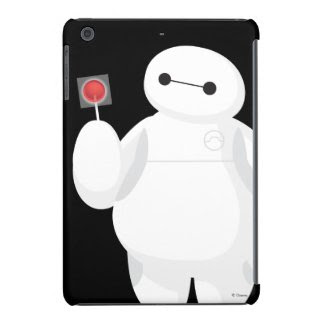 Big Hero 6 Lollipop Sign iPad Mini Cover