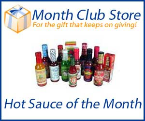 Hot Sauce of the Month Club at MonthClubStore.com
