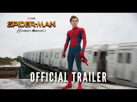SPIDERMAN: HOMECOMING TRAILER IS HERE