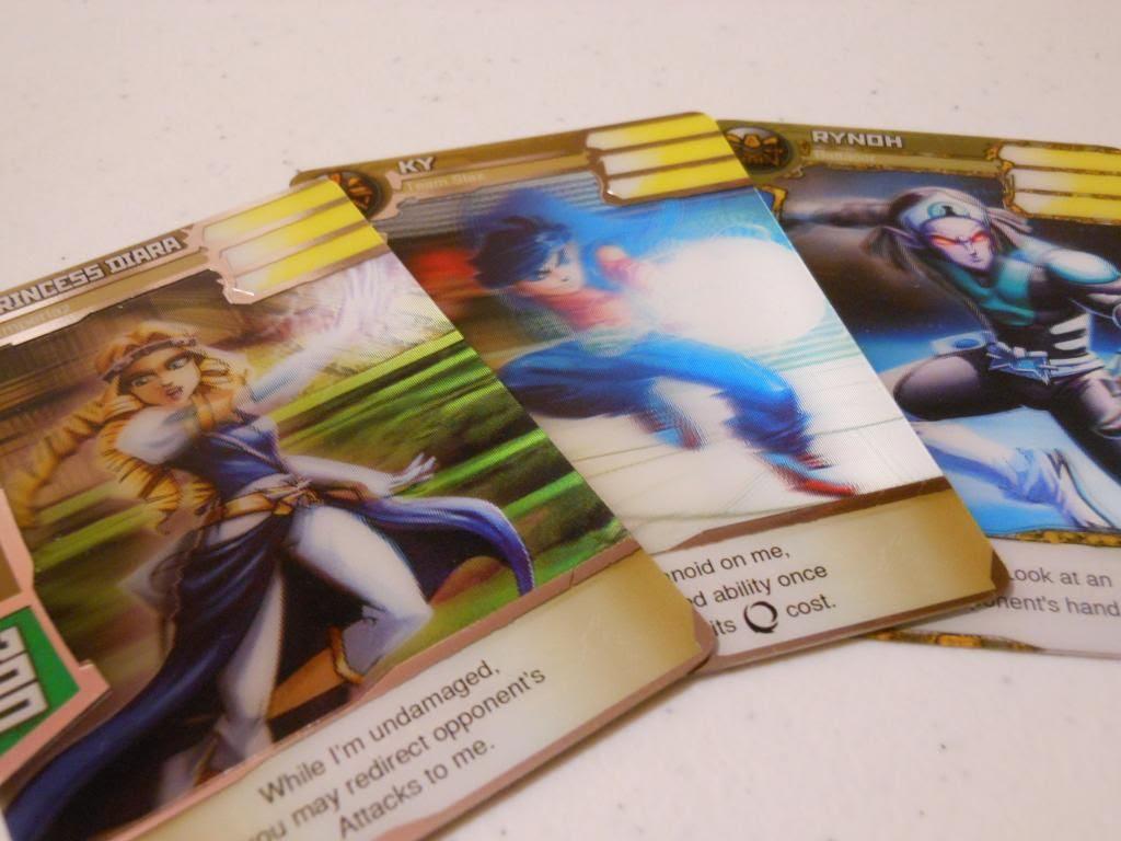 Redakai character cards