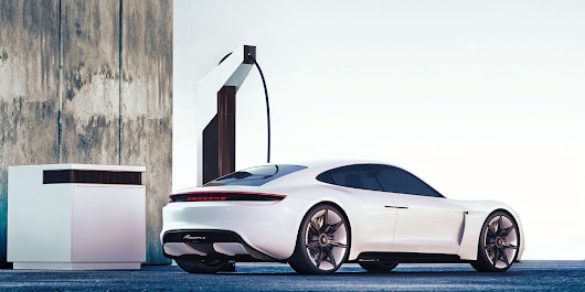 Porsche unveils its plan for electric vehicle fast-charging stations: Electric pit stop | Electrek