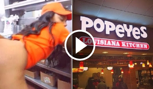[CAUGHT ON TAPE] Popeye's Employees Having Sex!