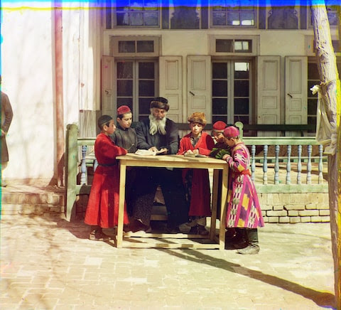 What Russia looked like before 1917 … in color