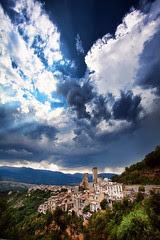 'Before the Storm', Italy, Abruzzo, Pacentro