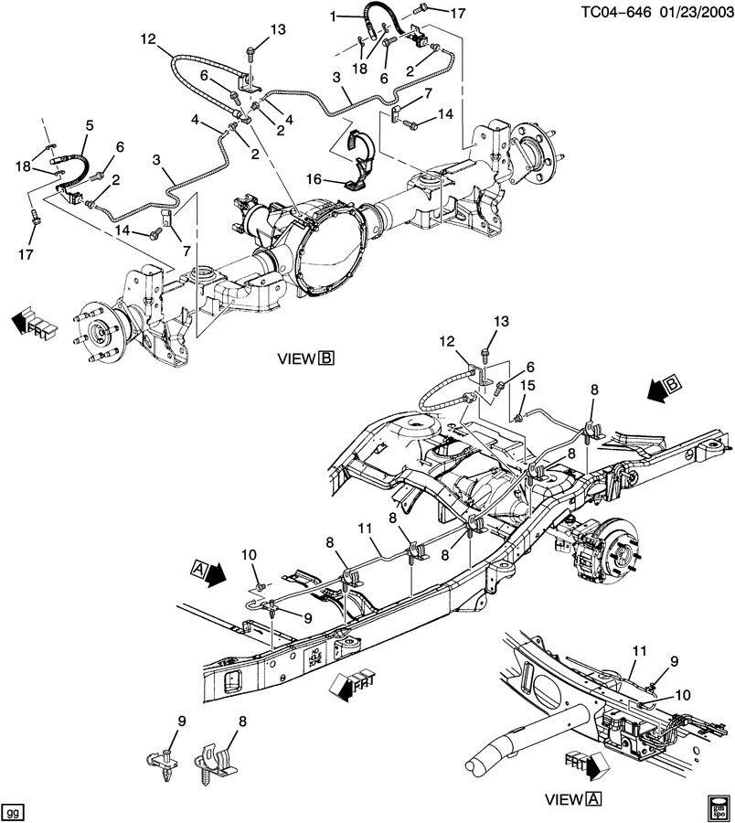 27 2000 gmc sierra brake line diagram  free wiring diagram