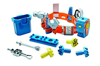 BRAND NEW Smoby Bob the Builder Deluxe Tool Belt with Tons of Tools!