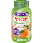 Vitafusion Power C Immune Support Gummy Vitamins Dietary Supplement, Orange, 150 Ct
