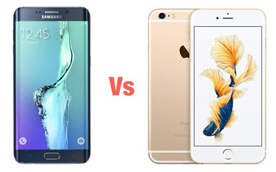 iPhone 6s Plus vs Samsung Galaxy S6 edge + | درويد نيوز
