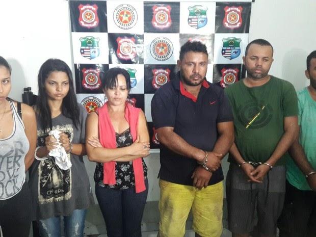 Polícia prende no MA suspeitos de integrar quadrilha de assalto a banco