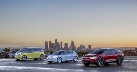 VW Passes Renault For First Place In Europe's Electric Car Sales Race Of The Minnows