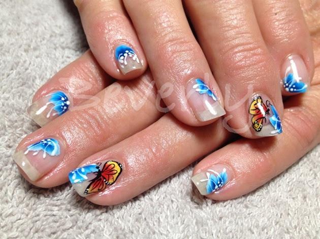 Natural nail overlay - Nail Art Gallery