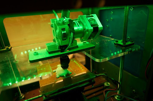 3D Printer at the Fab Lab by kakissel, on Flickr