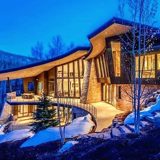 Modern Mountain Lodge Modern Lodge Follow Dream
