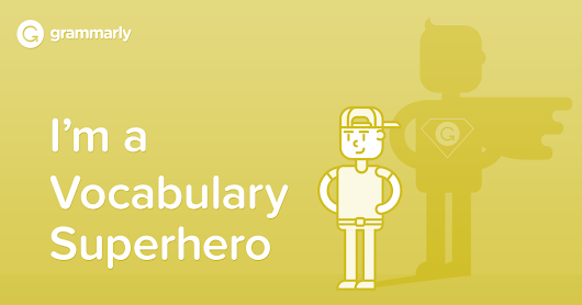 I'm a Vocabulary Superhero