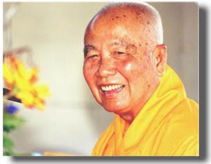 Zen master Thich Thanh Tu