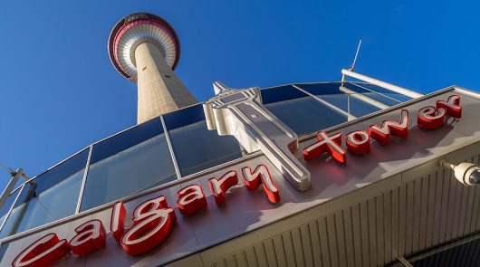 Get in those steps and conquer the Calgary Tower on Tuesday, March 28