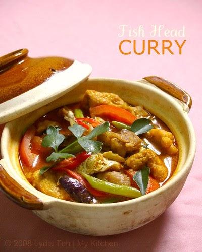 My Kitchen: Fish Head Curry [咖喱鱼头]