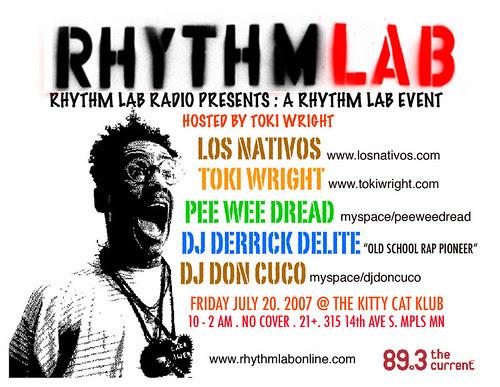 Rythm Lab Event