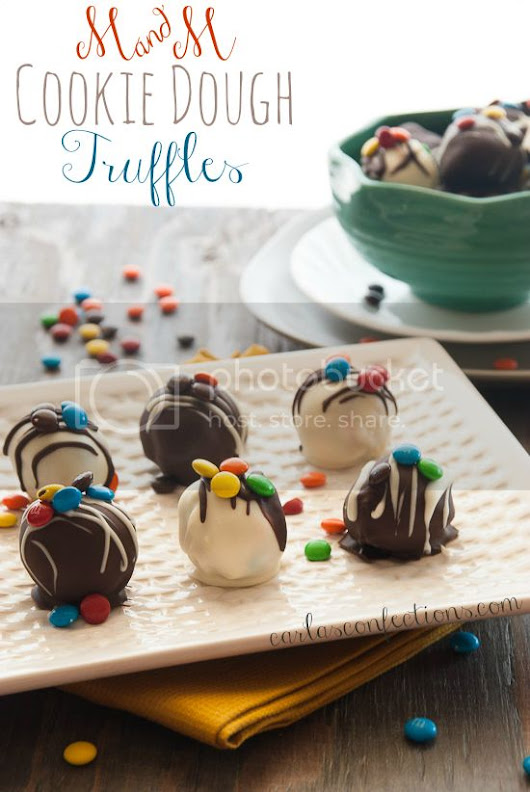 Carla's Confections: Cookie Dough Truffles