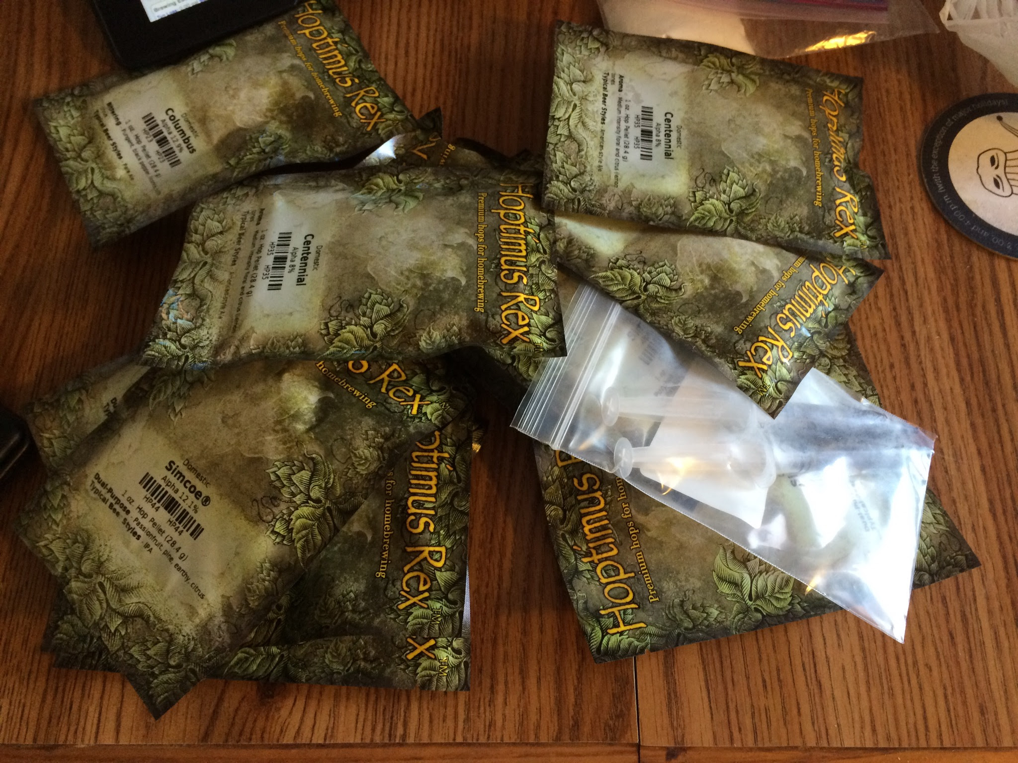 I may not have used all these hops if I tried to come up with my own IPA recipe.