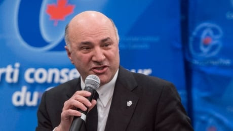 On changing social values, Kevin O'Leary tells Tories at debate: 'Get used to it'