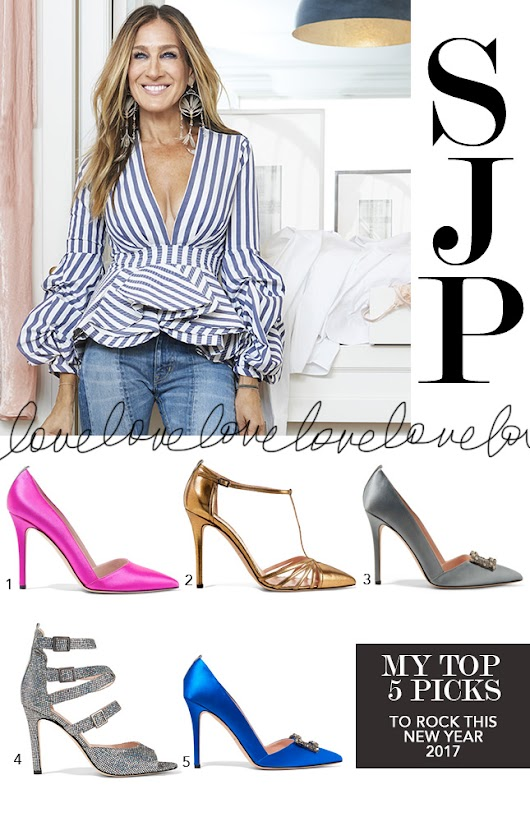 TOP 5 Picks from SJP Shoe Collection  - Made By Girl