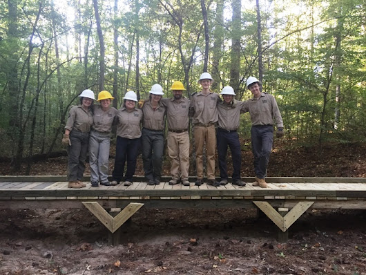 Natchez Trace Parkway Engages Youth to Rehabilitate Trails – Natchez Trace Compact