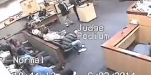 RAW VIDEO: Judge Tells Attorney 'I'll Beat Your Ass'