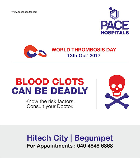 Blood clots can be deadly
